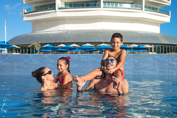 Travel agency seadust cancun family. resort
