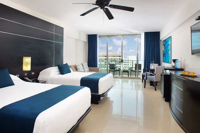 Luxury suite seadust cancun family resort cancún